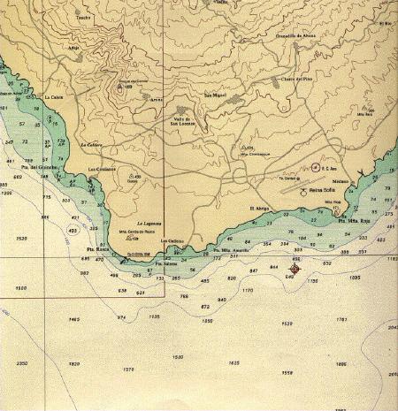 Южная часть острова тенерифе места las